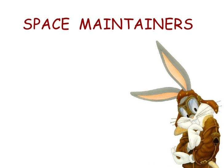 SPACE  MAINTAINERS