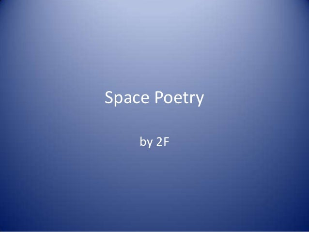 Space Poetryby 2F