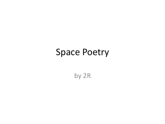 Space Poetryby 2R