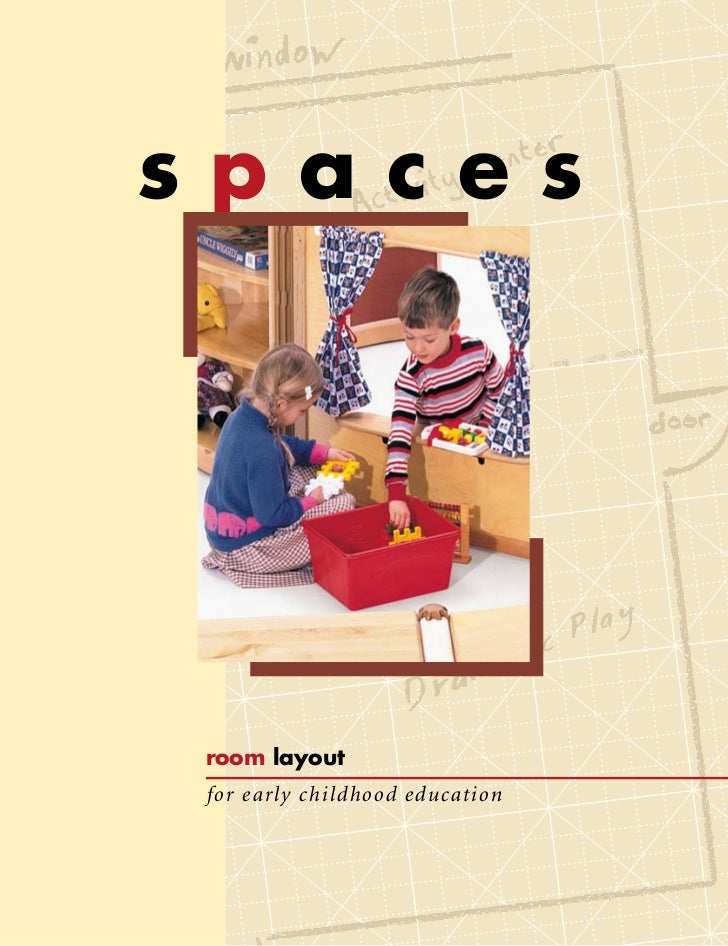 spacesroom layoutfor early childhood education