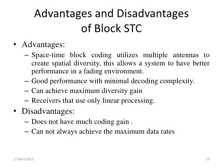 thesis on space time block coding