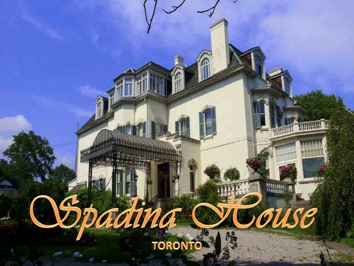 Spadina House, also called Spadina Museum , is a historic manor onSpadina Road in Toronto, Canada that is now a museum ope...