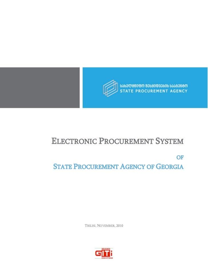 Spa e procurement_system_giti_2010
