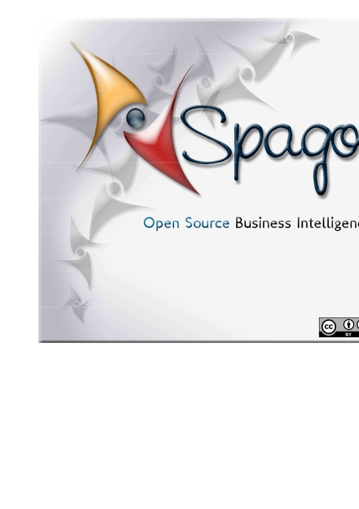 SpagoBI 3.x official presentation