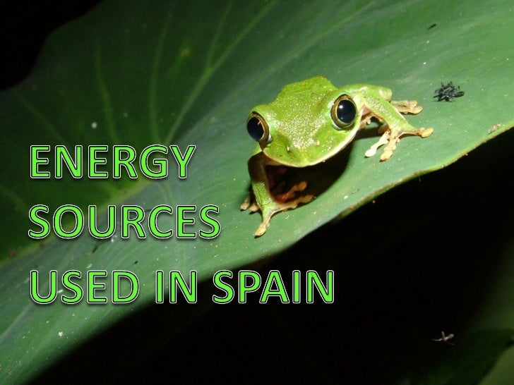 Spain natural resources