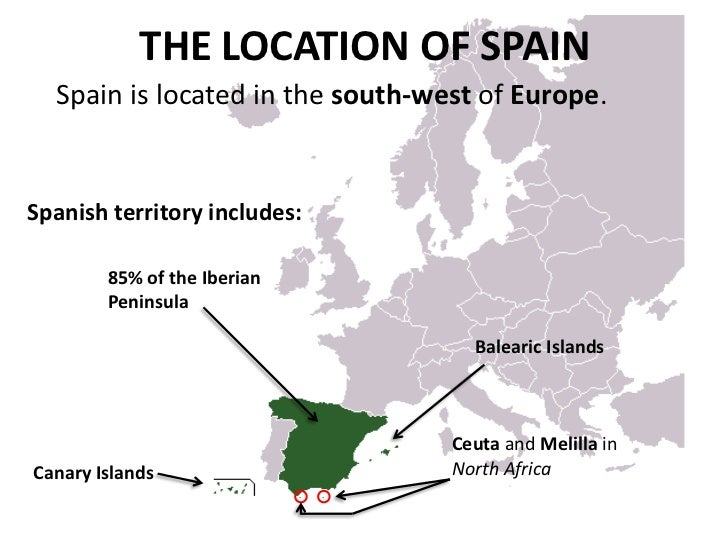 an analysis and geography of the country of spain A country is a region that is identified as a distinct national entity in political geography a country may be an  in the kingdom of spain, the regions.
