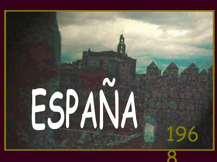 ESPAÑA 1968