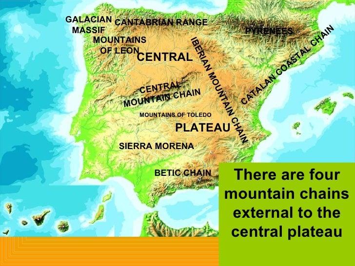 mountain ranges of the iberian peninsula