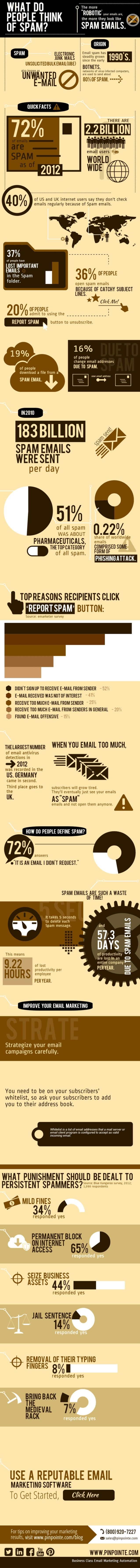 Infographic: What do people think of SPAM?