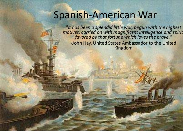 spanish american war essay outline
