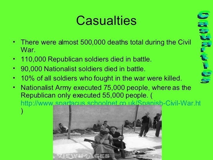 causes of spanish civil war The spanish civil war is one of the most famous coups in the world and took place between july of 1936 and april of 1939 the uprising consisted of military action between the existing republican government and a nationalist faction led by a military general called francisco franco.