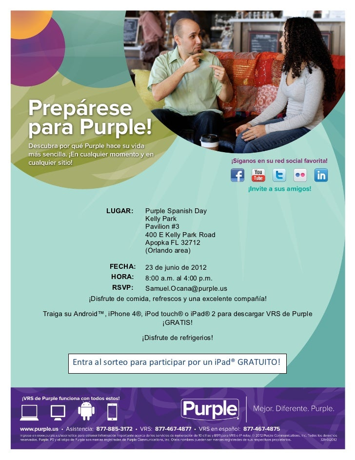 Orlando, FL - Purple Spanish Day