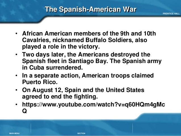 Spanish american war P...