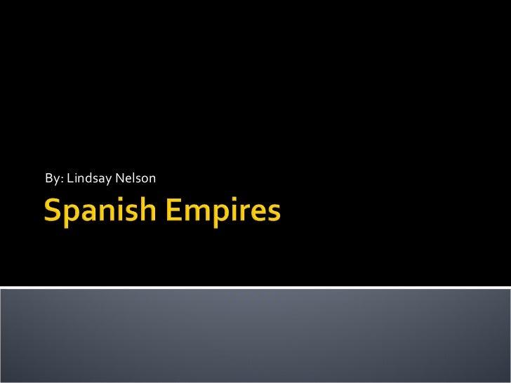 Spanish empires in america