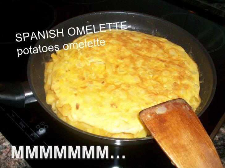 ISH OME  LETTE-SPAN  otatoes o melettep