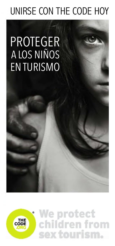 UNIRSE CON THE CODE HOY PROTEGER EN TURISMO A LOS NIÑOS