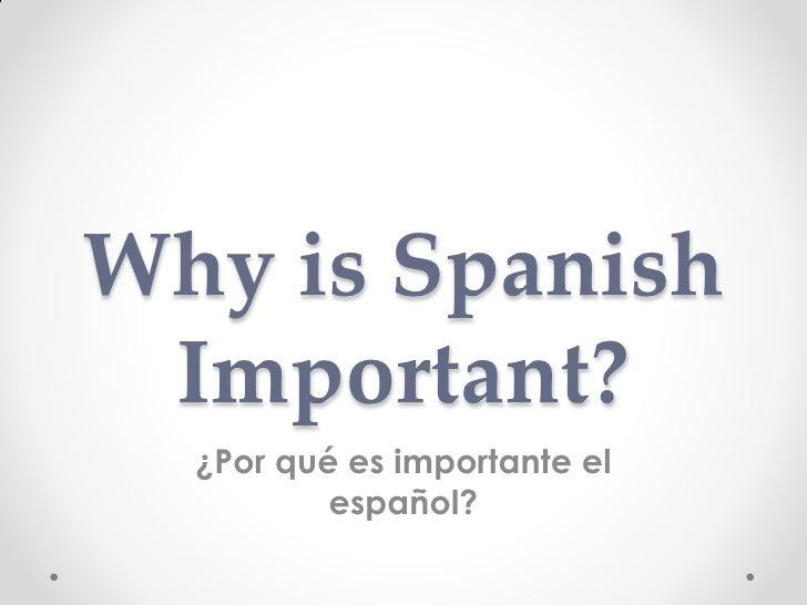 Spanish powerpoint