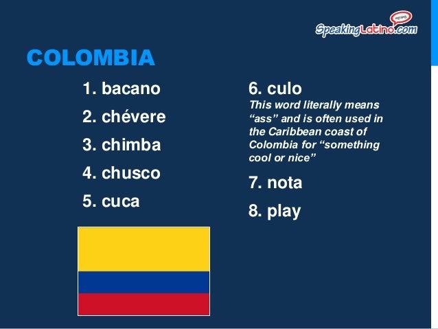 spanish slang colombian spanish slang