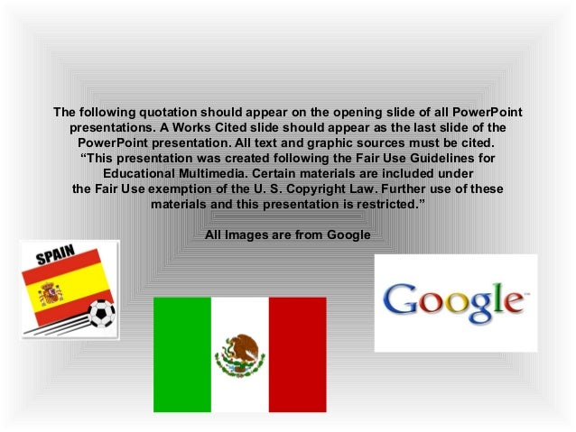 Spanish Time Power Point