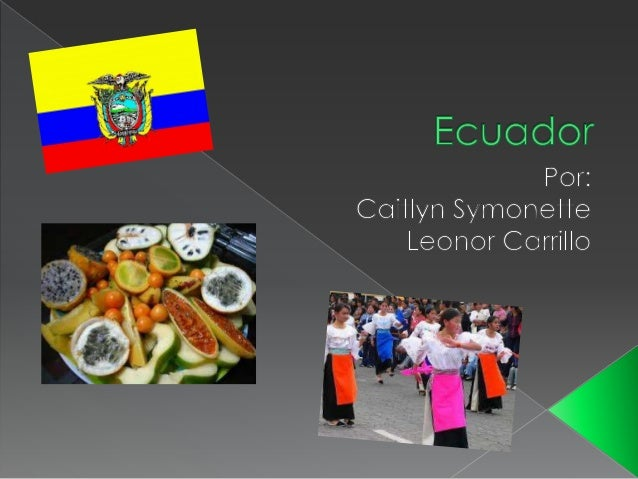 Spanish travel project   ecuador
