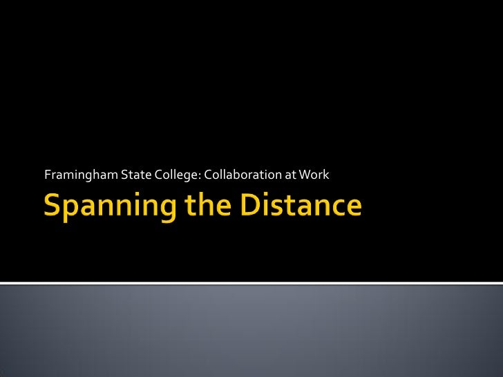 Spanning The Distance Final 0507