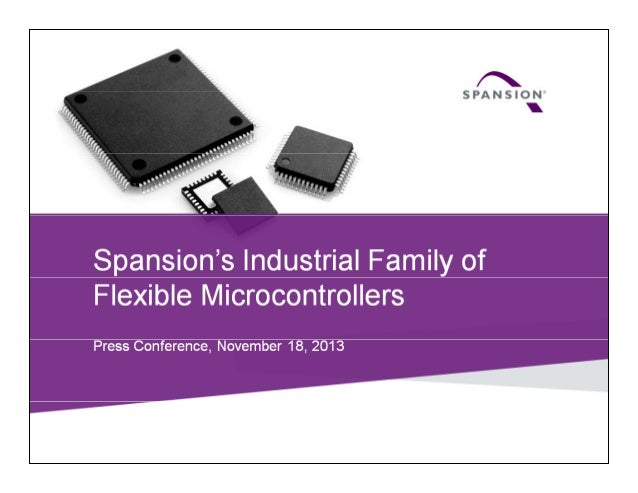 Spansion FM Family of Flexible Microcontrollers