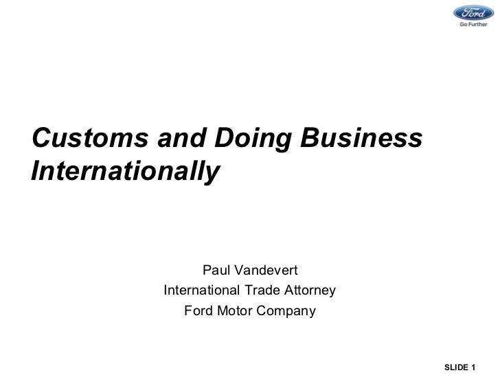 March 2012 - Business Law & Order - Paul Vandevert