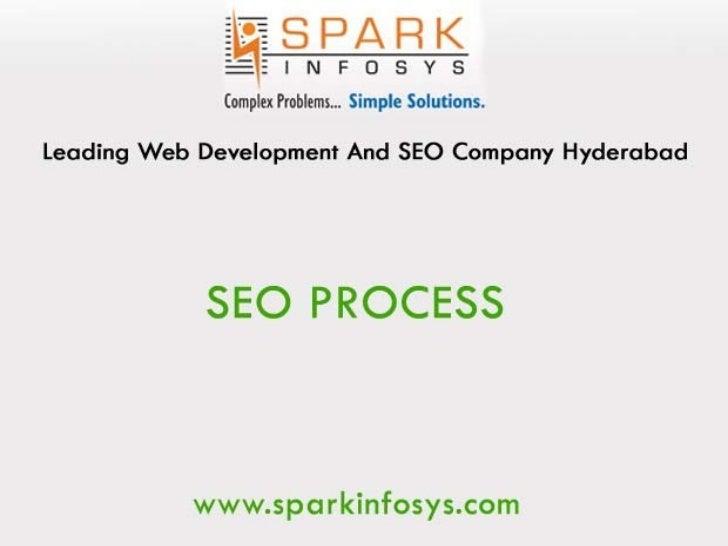 Search Engine Optimization Process Sparkinfosys Hyderabad