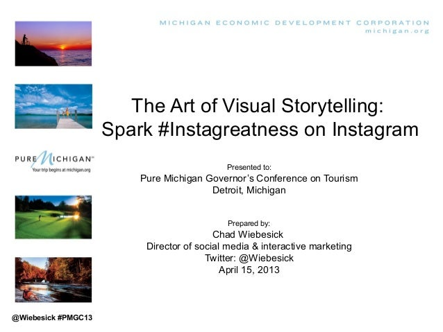 The Art of Visual Storytelling:                     Spark #Instagreatness on Instagram                                    ...