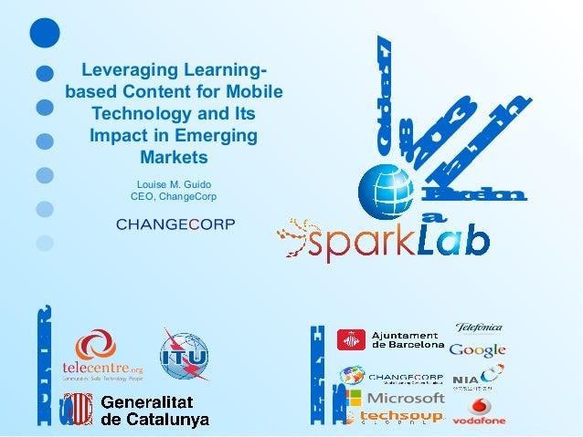 """""""Leveraging Learning-based Content for Mobile Technology and Its Impact in Emerging Markets"""""""