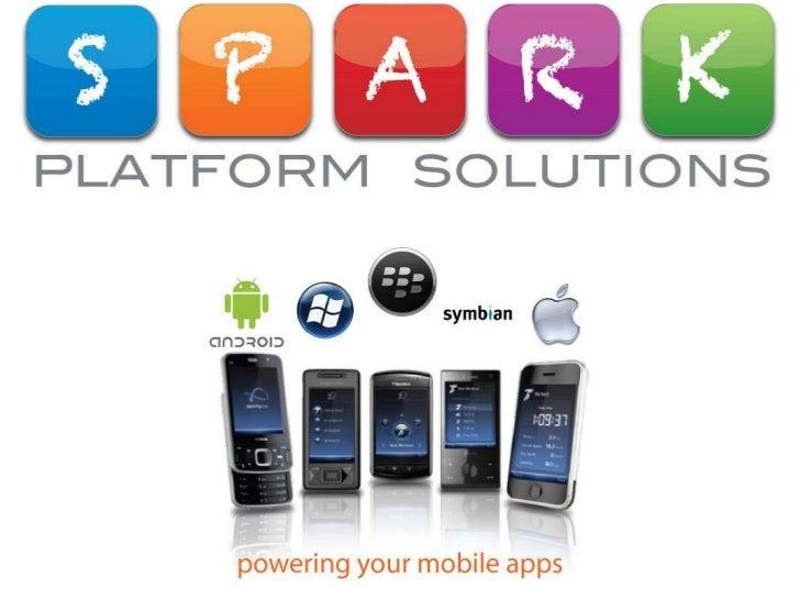 Spark Platform Solutions   mobile apps for non profits bc