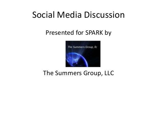 Spark social media presentation 041113
