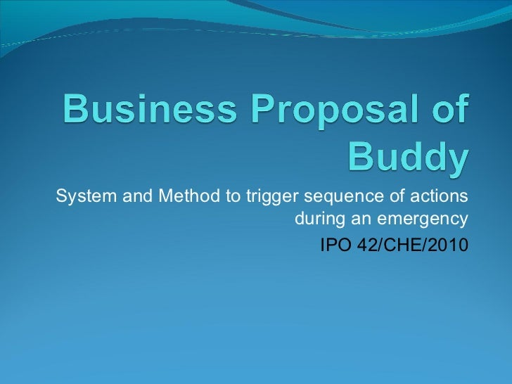System and Method to trigger sequence of actions during an emergency IPO 42/CHE/2010