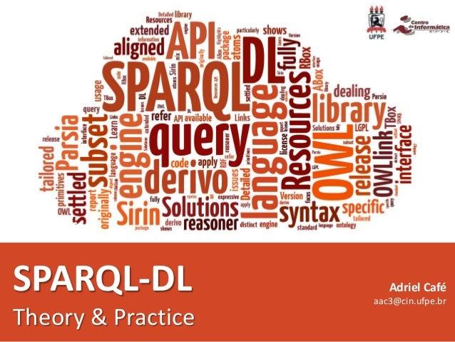 SPARQL-DL Theory & Practice Adriel Café aac3@cin.ufpe.br