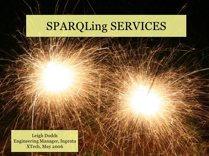 SPARQLing Services