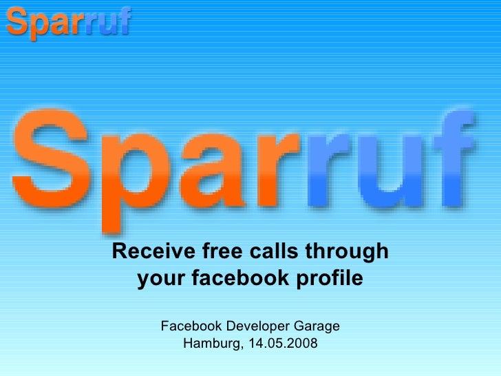 Facebook Developer Garage Hamburg_Sparruf
