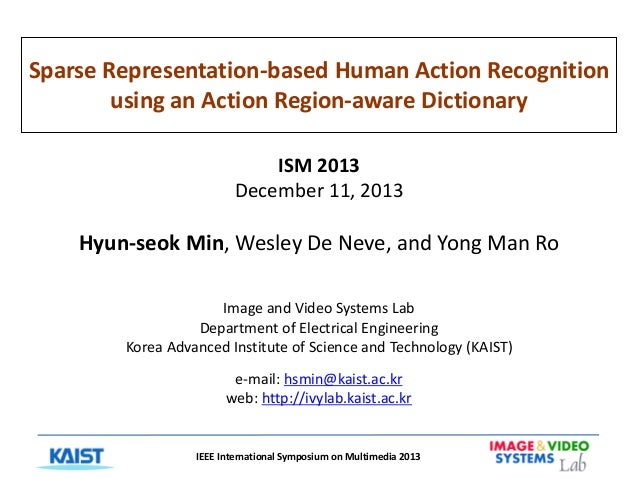 Sparse representation based human action recognition using an action region-aware dictionary
