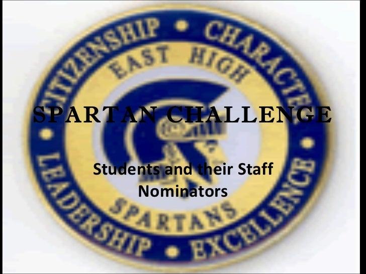 Spartan challenge 10 11
