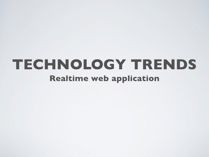 Realtime webapp with node.js