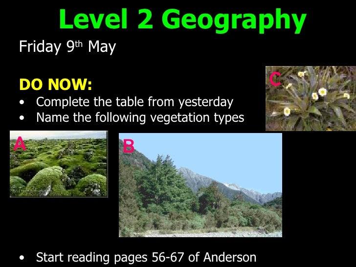 <ul><li>Friday 9 th  May </li></ul><ul><li>DO NOW: </li></ul><ul><li>Complete the table from yesterday </li></ul><ul><li>N...