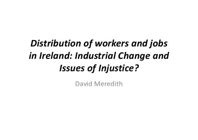 Spatial Justice and the Irish Crisis: Rural Economy - David Meredith