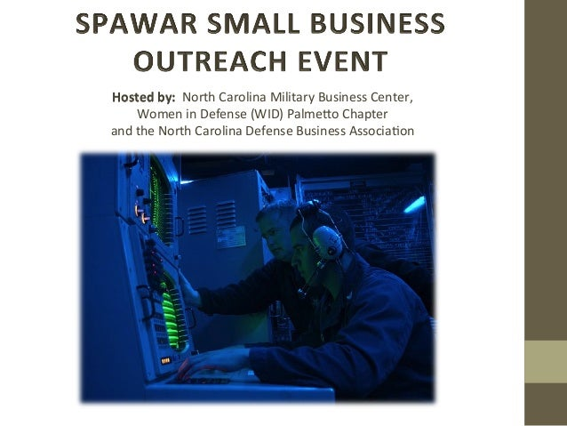 Hosted	   by:	   	   North	   Carolina	   Military	   Business	   Center,	   	    Women	   in	   Defense	   (WID)	   Palme...