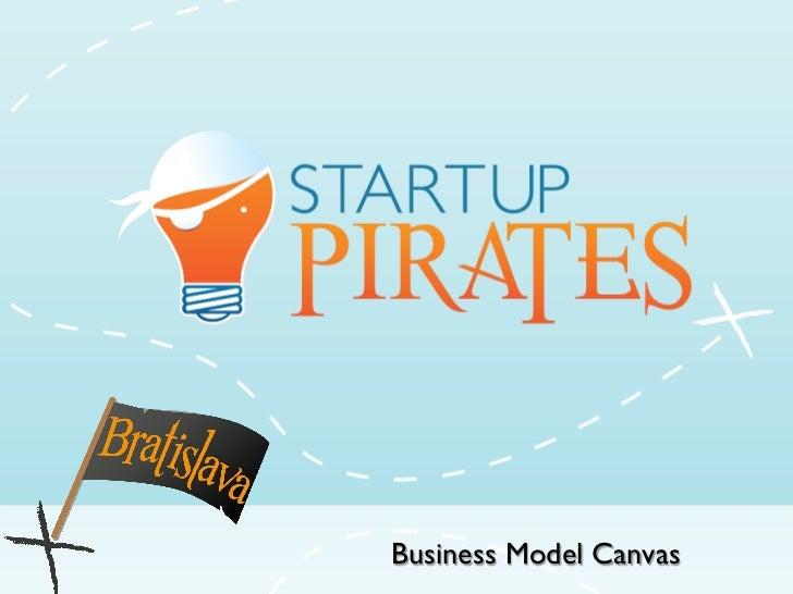 Business Model Canvas Workshop at Startup Pirates @ Bratislava
