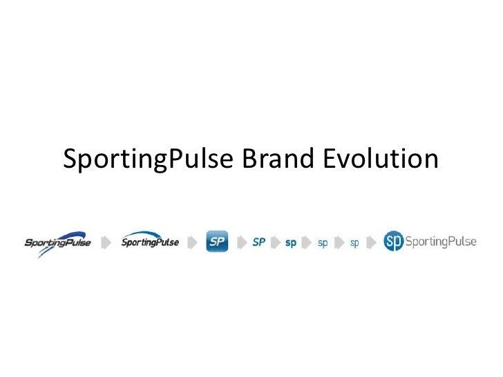 SportingPulse Brand Evolution