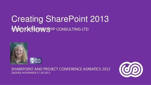 Creating SharePoint 2013 Workflows