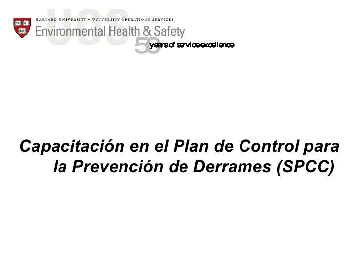SPCC Training Spanish