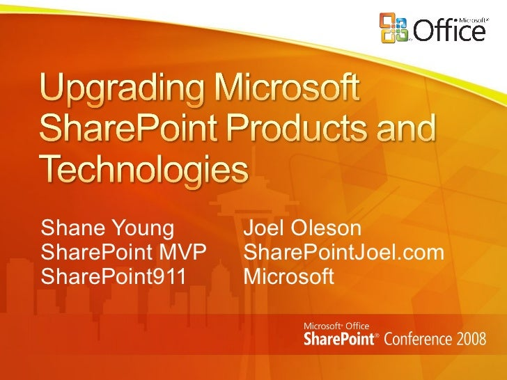 SharePoint Upgrade (WSS 2.0 to WSS 3.0 and SPS 2003 to MOSS 2007) by Joel Oleson and Shane Young