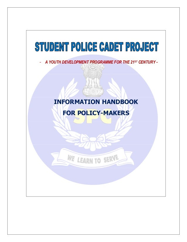 - A YOUTH DEVELOPMENT PROGRAMME FOR THE 21ST CENTURY - INFORMATION HANDBOOK FOR POLICY-MAKERS