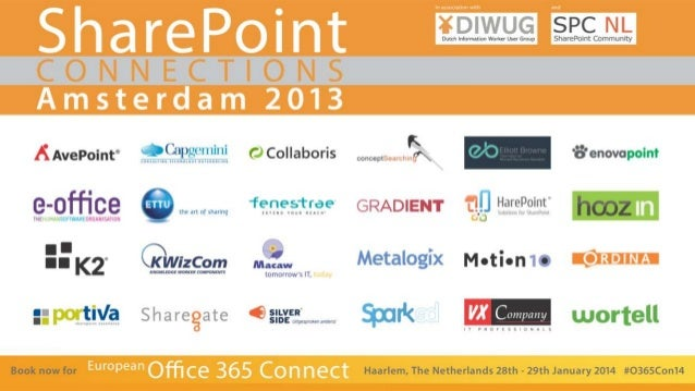 SharePoint Connections Amsterdam 2013: Real-life building public-facing websites with SharePoint 2013