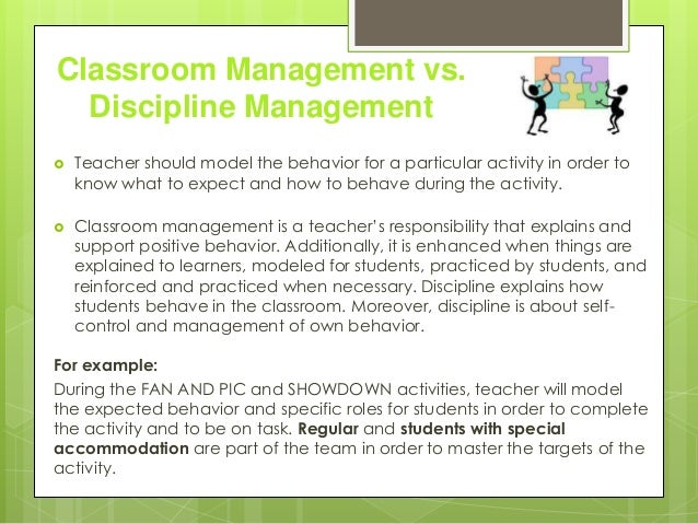 Tips for Achieving and Maintaining Classroom Discipline